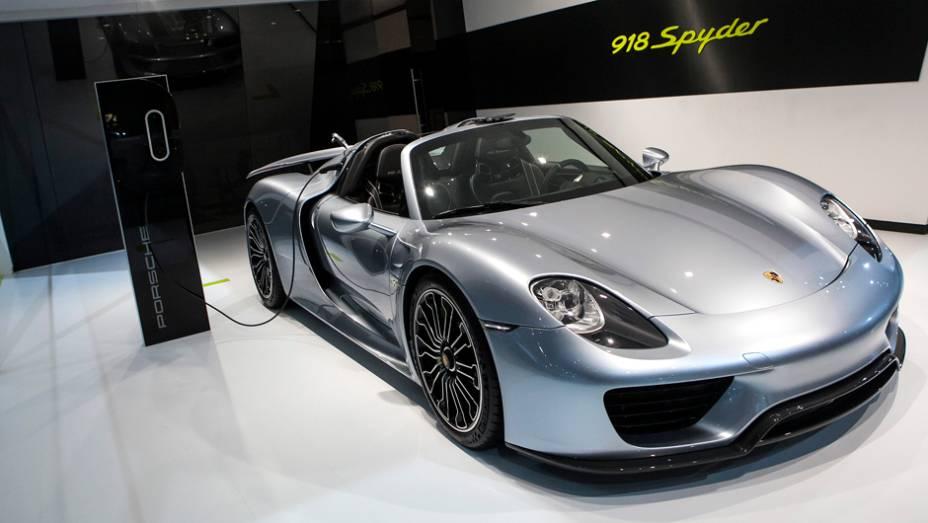 """Porsche 918 Spyder   <a href=""""http://quatrorodas.abril.com.br/noticias/saloes/new-york-2014/"""" rel=""""migration"""">Leia mais</a>"""