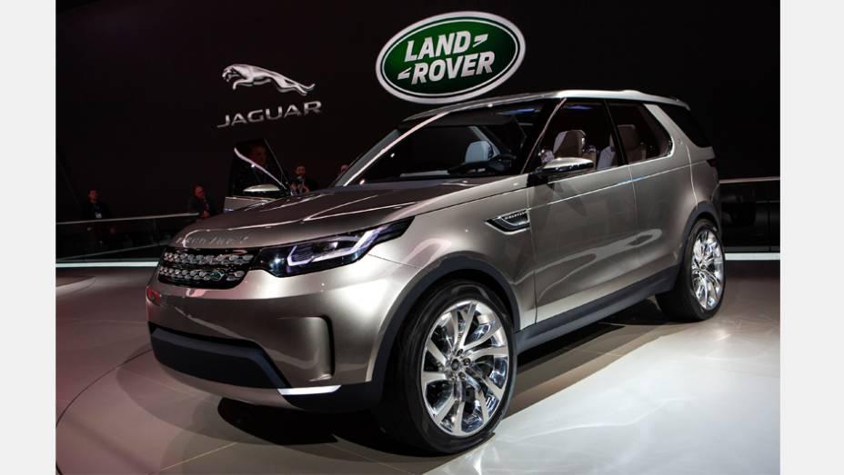 """Land Rover Discovery Vision Concept   <a href=""""http://quatrorodas.abril.com.br/noticias/saloes/new-york-2014/land-rover-lanca-conceito-discovery-vision-779837.shtml"""" rel=""""migration"""">Leia mais</a>"""
