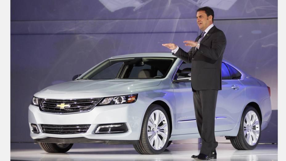 """Chevrolet Impala   <a href=""""http://quatrorodas.abril.com.br/noticias/saloes/new-york-2014/"""" rel=""""migration"""">Leia mais</a>"""