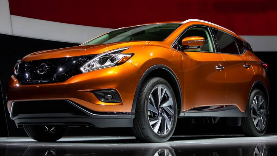 """Nissan Murano 2015   <a href=""""http://quatrorodas.abril.com.br/noticias/saloes/new-york-2014/nissan-murano-2015-sera-mostrado-nova-york-779763.shtml"""" rel=""""migration"""">Leia mais</a>"""