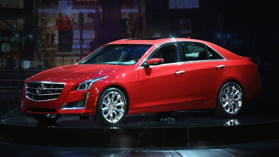 """Cadillac CTS   <a href=""""http://quatrorodas.abril.com.br/noticias/saloes/new-york-2014/"""" rel=""""migration"""">Leia mais</a>"""