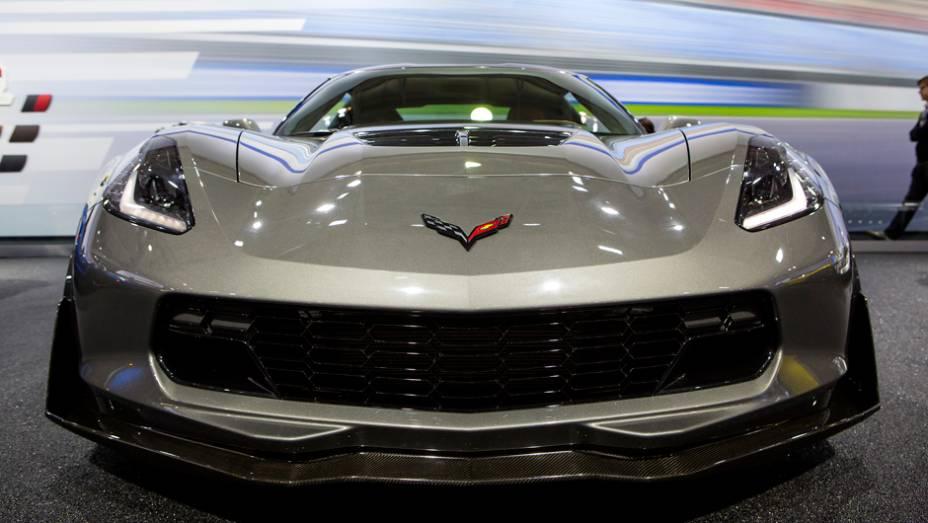 """Chevrolet Corvette Z06   <a href=""""http://quatrorodas.abril.com.br/noticias/fabricantes/gm-revela-corvette-z06-conversivel-779627.shtml"""" rel=""""migration"""">Leia mais</a>"""