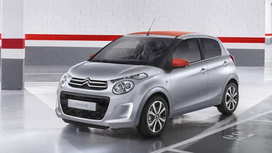 A Citroën aproveitará o Salão de Genebra para mostrar o novo C1