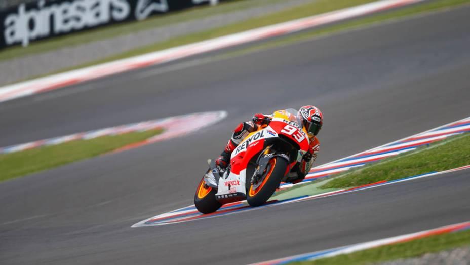 """Galeria de Quatro Rodas da MotoGP - Argentina (sexta) - Marc Márquez   <a href=""""http://quatrorodas.abril.com.br/moto/noticias/marc-marquez-mais-rapido-dia-argentina-780861.shtml"""" rel=""""migration"""">Leia mais</a>"""