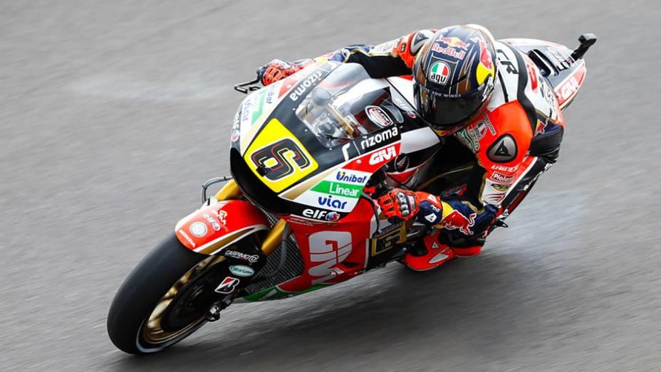 """Galeria de Quatro Rodas da MotoGP - Argentina (sexta) - Stefan Bradl   <a href=""""http://quatrorodas.abril.com.br/moto/noticias/marc-marquez-mais-rapido-dia-argentina-780861.shtml"""" rel=""""migration"""">Leia mais</a>"""