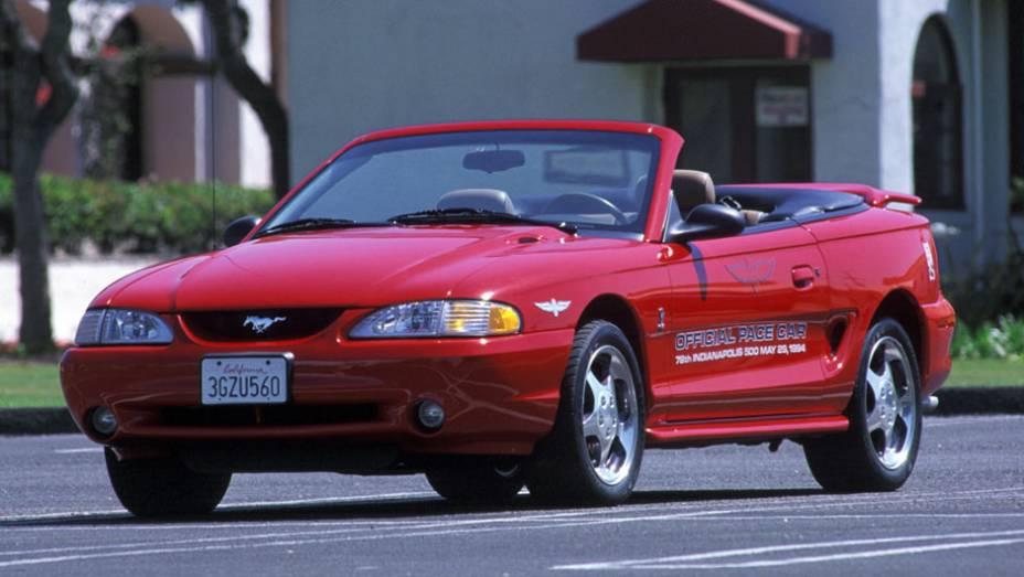 No fim de 1994, o pony-car sofreu a maior mudança desde seu lançamento; completamente diferente, ele até chegou a ser importado para o Brasil