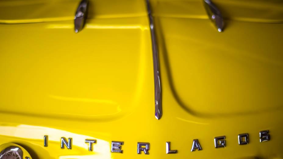 Todos os carros são separados por nacionalidade; na ala dos modelos nacionais, há três Willys Interlagos