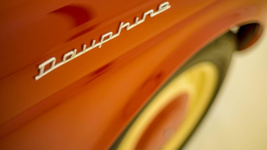Detalhe do Renault Dauphine