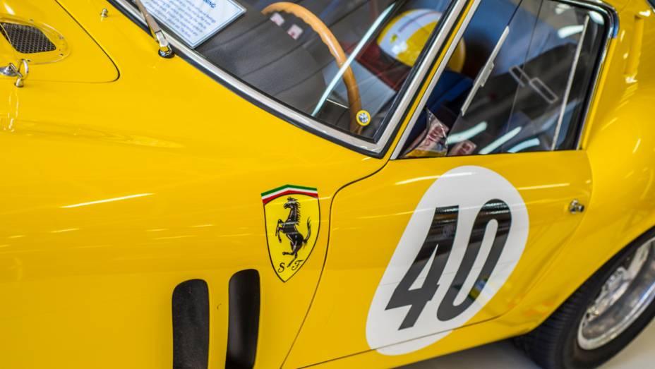 Esta belíssima 250 GTO é uma das Ferrari mais cobiçadas do mundo; alguns exemplares raros já foram leiloados por mais de US$ 30 milhões