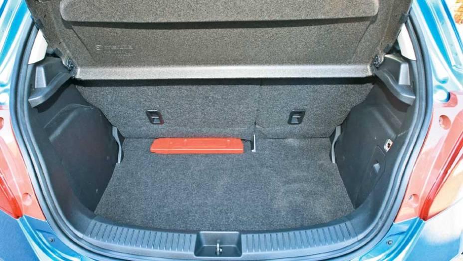 Porta-malas de 250 litros
