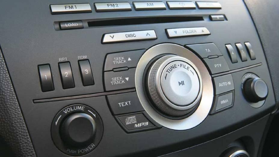 CD player que toca arquivos MP3