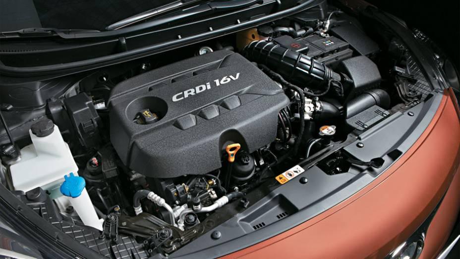 O 1.6 diesel é só para a Europa.