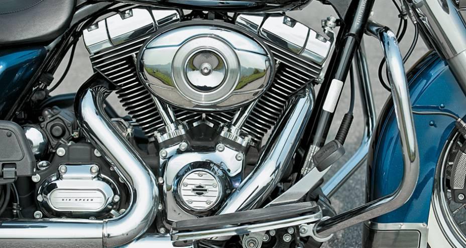Cromados em profusão: o V2 de 1 700 cc é uma beldade mecânica