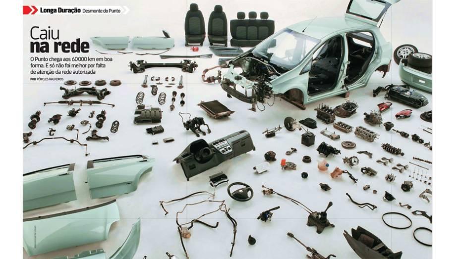 Fiat Punto: após passar pelas mãos de 43 motoristas e rodar por 39 cidades brasileiras, o hatch foi aprovado e se mostrou um bom companheiro para viagens, mas poderia ter ido melhor se as queixas registradas tivessem sido levadas em consideração pela rede