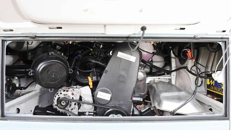 Não houve alterações mecânicas no motor 1.4 flex...