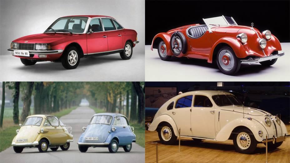 A indústria automotiva alemã é tão famosa por sua excelência técnica que é fácil se esquecer que ela já produziu alguns dos carros europeus mais estranhos visual e/ou tecnicamente. Veja a lista a seguir!