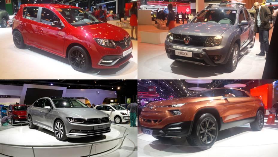 O Buenos Aires International Motor Show chega a sua edição 2015 com novidades importantes para o mercado brasileiro