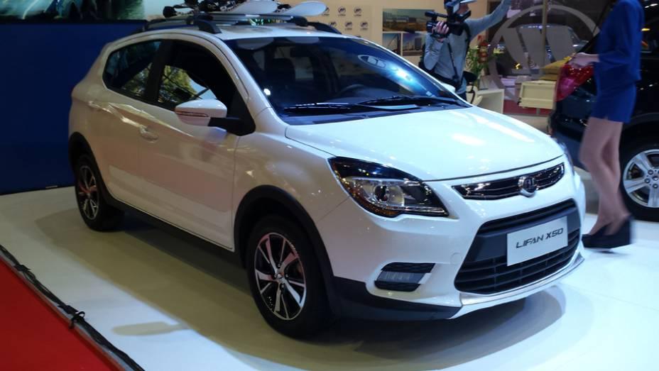 Pelos lados da chinesa Lifan, o destaque fica para o utilitário X50