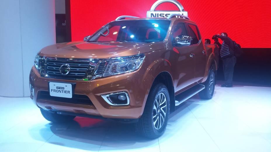 Da Nissan, vimos a nova Frontier que só chegará ao mercado em 2017