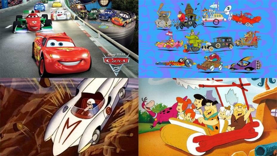 Sinal de uma era em que simbolizava sucesso individual e coletivo nos Estados Unidos, o automóvel se tornou protagonista de desenhos animados a partir dos anos 50. Veja os carrinhos mais animados das telonas e das telinhas!