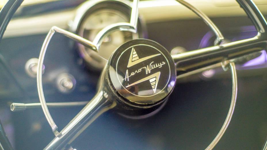 O que dizer do luxuoso interior do Aero-Willys?