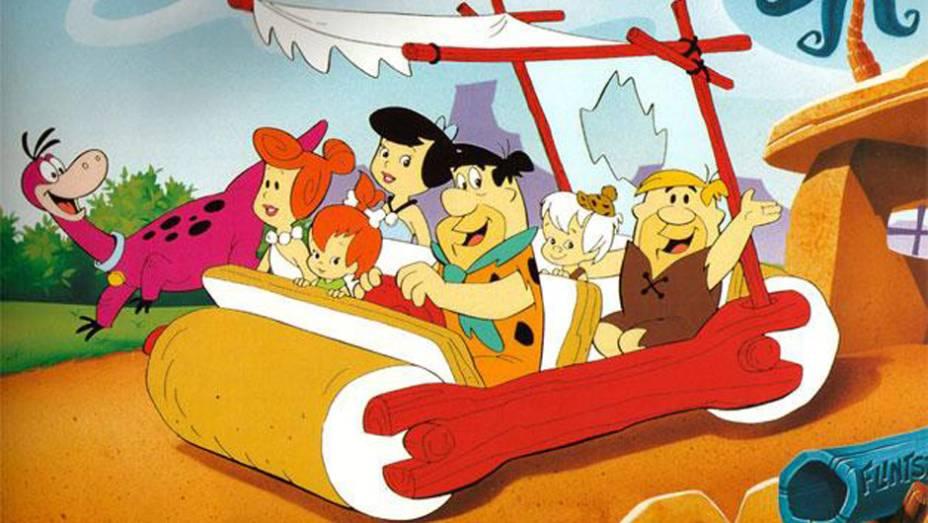 Os Flintstones (1960-1966) - A alegoria da família moderna segundo a idade da pedra incluía um carro movido a passos dos ocupantes, com dois cilindros de rocha em vez das quatro rodas