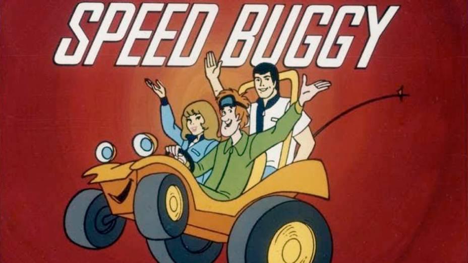Speed Buggy (1973) - Reflexo do fenômeno dos bugues nos anos 60 e 70, o personagem-título concentrava as piadas com seu sotaque trepidante de motor a ar, entre uma corrida e outra, com seu trio de amigos humanos