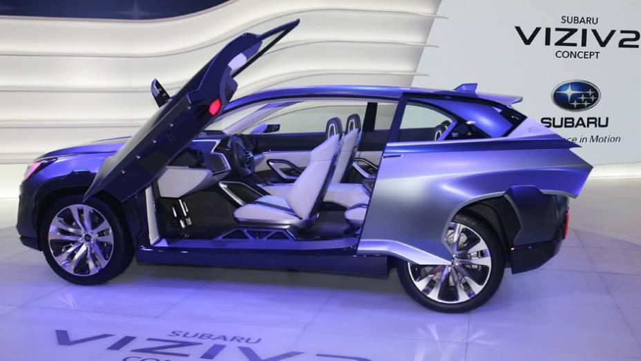 """Subaru VIZIV2 Concept   <a href=""""http://quatrorodas.abril.com.br/noticias/saloes/genebra-2014/subaru-revela-viziv-2-concept-775297.shtml"""" rel=""""migration"""">Leia mais</a>  <a href=""""http://quatrorodas.abril.com.br/galerias/saloes/genebra/2014/direto-genebra-parte-2-775719.shtm"""" rel=""""migration""""></a>"""