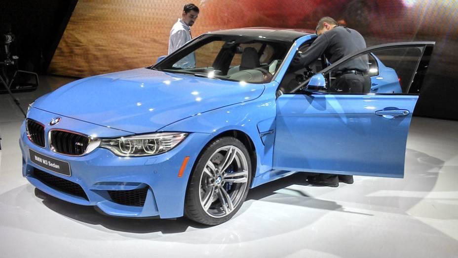 BMW M3 Sedan: o motor 3.0 TwinPower Turbo entrega 431 cv e um visual mais sisudo do que esportivo
