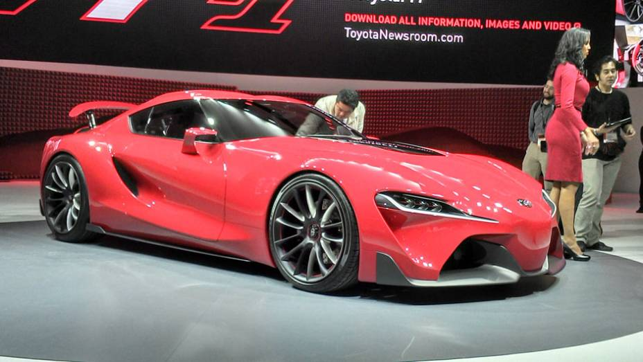 Toyota FT-1: ele pode inspirar o sucessor do Supra, mas por enquanto é só um carro-conceito, que aparece no game Gran Turismo 6