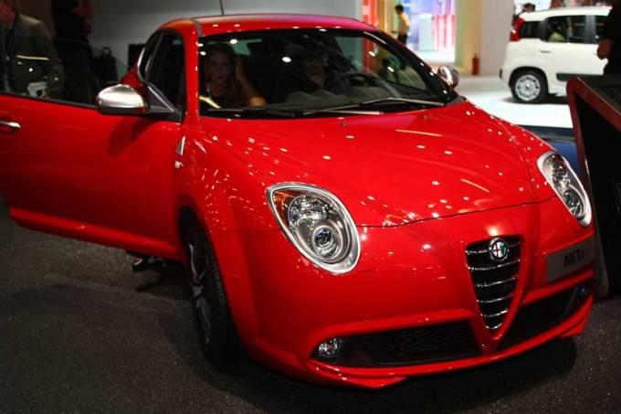 Alfa Romeo: estande em Frankfurt
