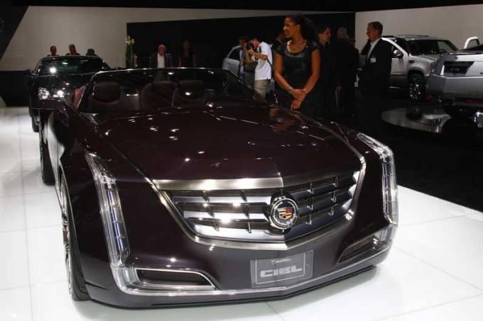 Cadillac: estande em Frankfurt
