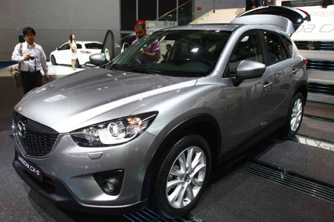 Mazda: estande em Frankfurt