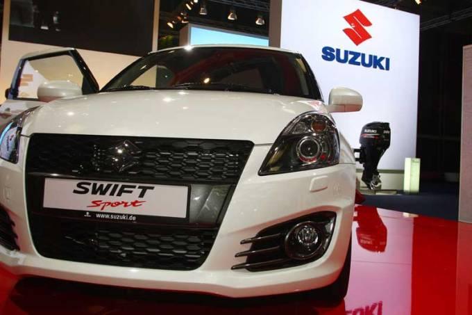 Suzuki: estande em Frankfurt