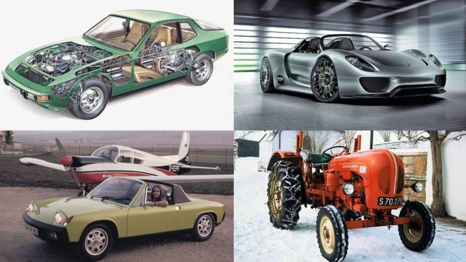 Talvez bastasse à Porsche seguir com suas melhores ideias para manter o sucesso. Mas de tempos em tempos ela rompe com seus padrões e surpreende a todos. A inovação tornou-se um tradição, conforme você verá adiante.