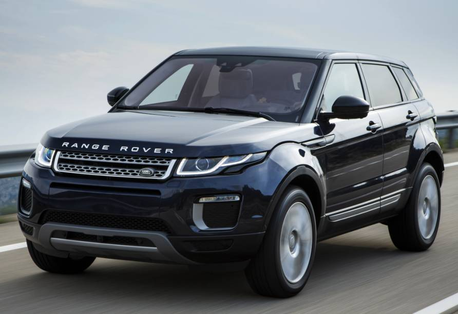 """<strong>Land Rover Range Rover Evoque </strong>– Modelo mais vendido da marca no Brasil, <a href=""""http://quatrorodas.abril.com.br/materia/antes-se-tornar-nacional-range-rover-evoque-reestilizado-chega-r-209-900-911322/"""" rel=""""o Evoque ganhou leves retoques visuais"""" target=""""_blank"""">o Evoque ganhou leves retoques visuais</a>. O utilitário será fabricado no Brasil em 2016, quando chega sua versão conversível."""