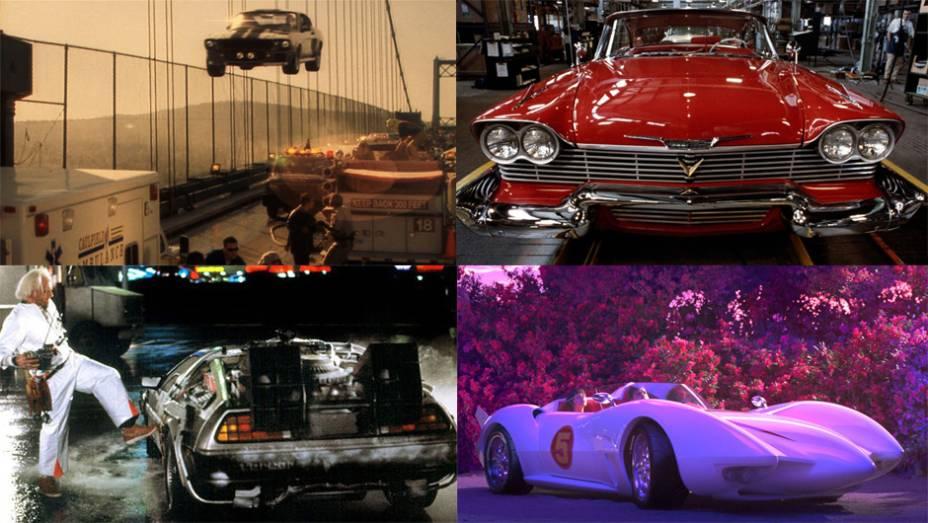 Existem filmes em que o carro é presença constante. Já estampa o cartaz, quando não dá nome à obra. O protagonismo automotivo chega até a dar vida inteligente a alguns deles.