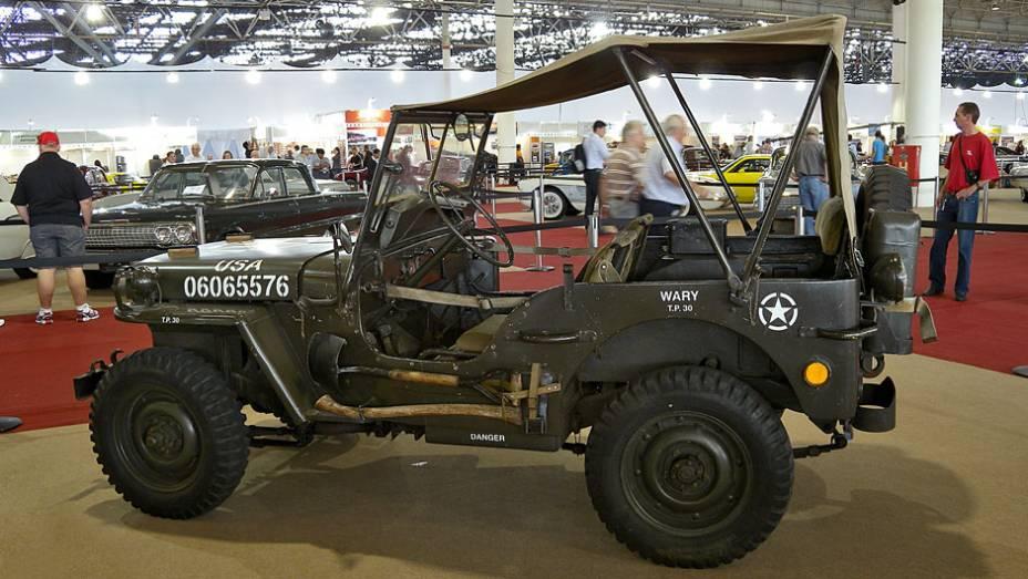 Ford GPW 1942, usado pelas Forças Aliadas durante a 2ª Guerra Mundial
