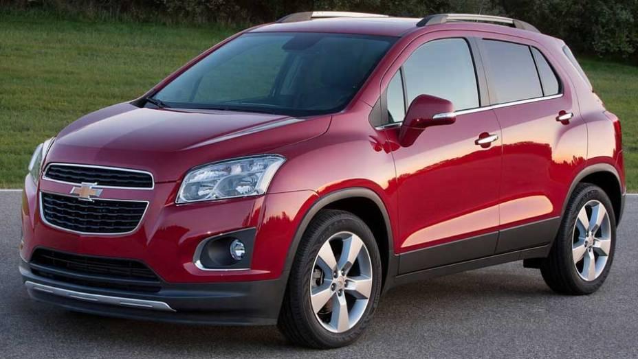 Com menos de 4,3 metros de comprimento, o Trax tem o tamanho ideal para rivalizar com os SUVs compactos vendidos em diversos mercados