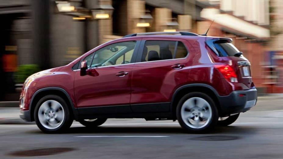 No Brasil, o Trax pode adotar o nome Tracker, anteriormente usado para batizar a versão americana do Suzuki Grand Vitara