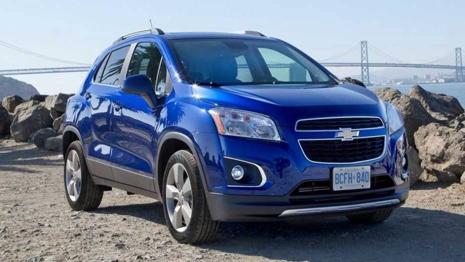 O estilo do Trax está em sintonia com a identidade visual adotada pela Chevrolet em todo o mundo