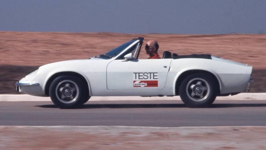 Em 1973, o conversível passa a se chamar GTS, com alterações na carroceria que o aproximavam do GTE. Saía de cena o característico aerofólio do GTE Spider