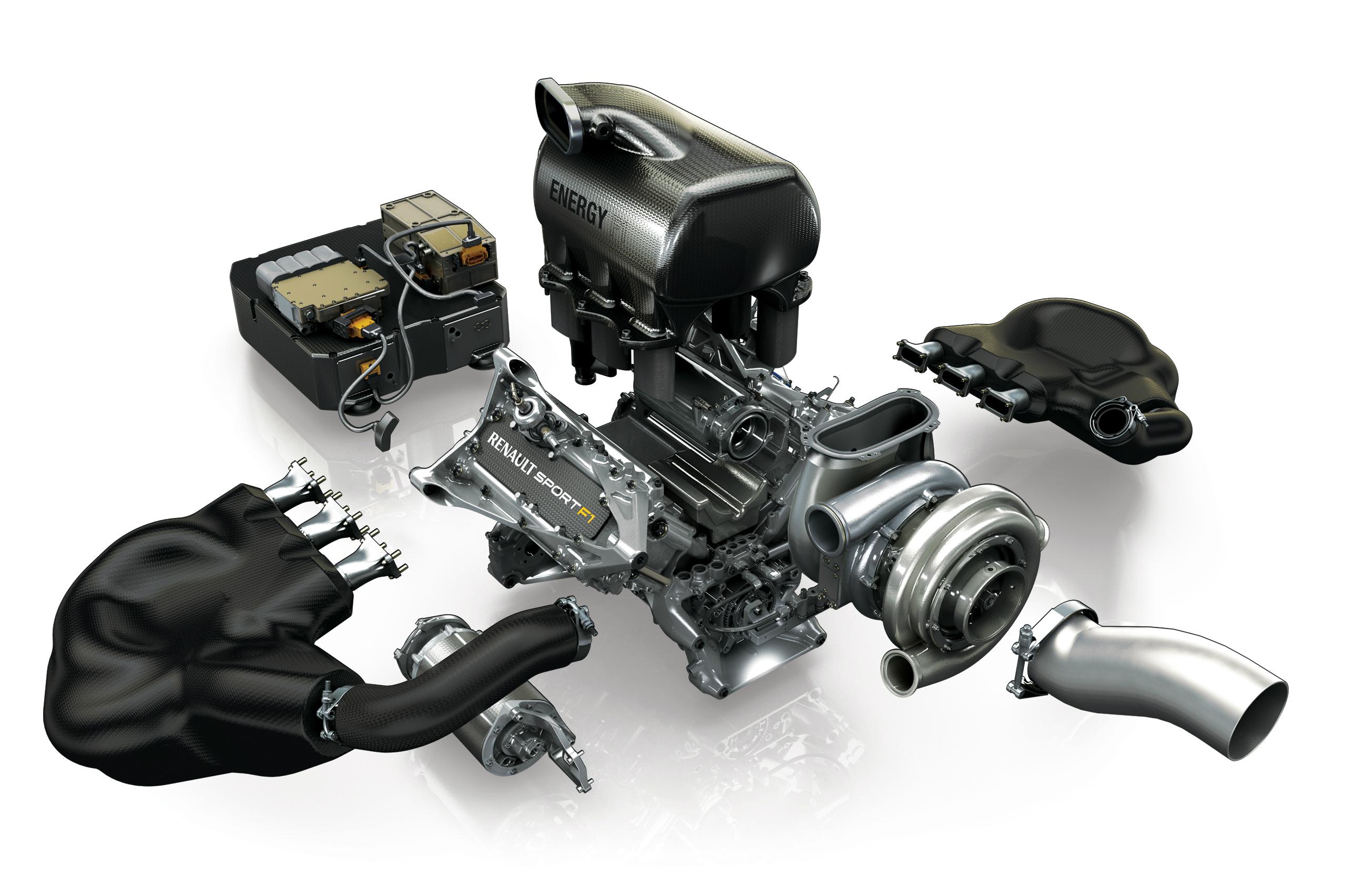 Motor Energy V6 da Fórmula 1