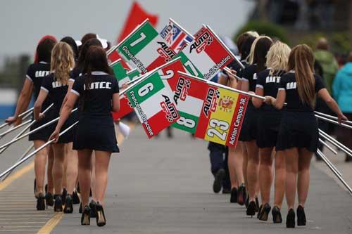 Garotas das 24 horas de Le Mans 2010