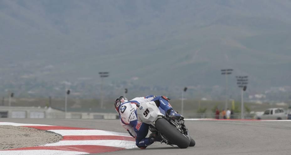 Com sua BMW, Leon Haslam sai em 12º lugar