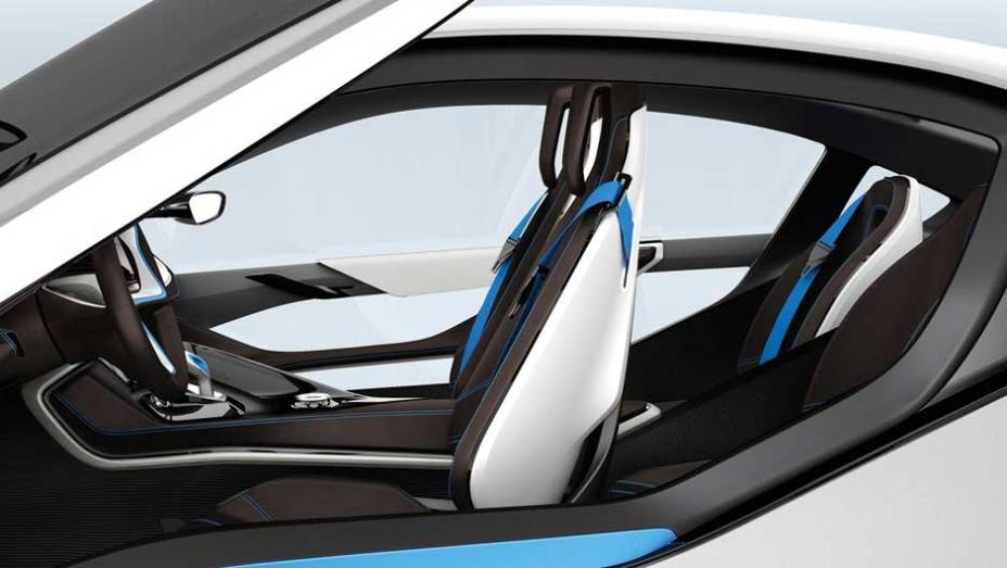 """Esportivo de linhas futuristas, ele inaugura a divisão """"i"""" de carros elétricos da BMW. <a href=""""http://quatrorodas.abril.com.br/noticias/sustentabilidade-bmw-revela-detalhes-divisao-eletrica-i-natali-chiconi-297169_p.shtml"""" rel=""""migration"""">Leia mais</a>"""