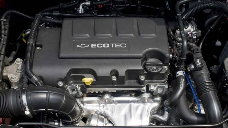 Motor 1.8 Ecotec equipa o sedã