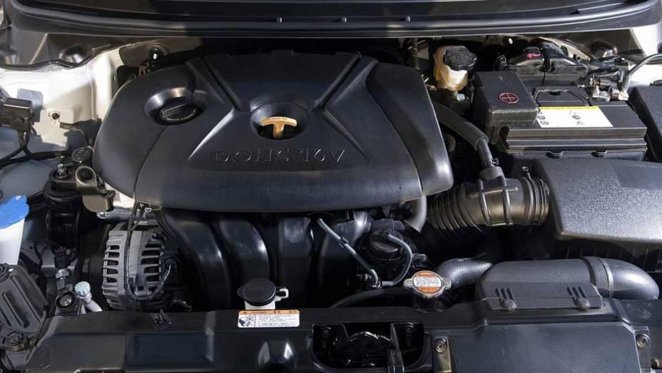 Motorização possui torque de 18,2 mkgf, a 4.700 rpm