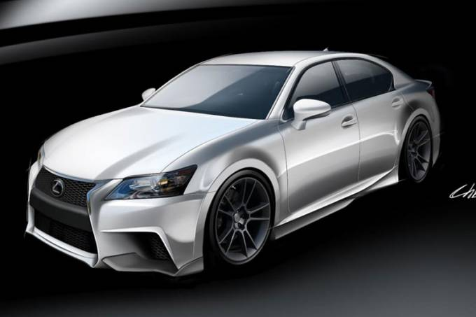 Lexus no SEMA Show 2011