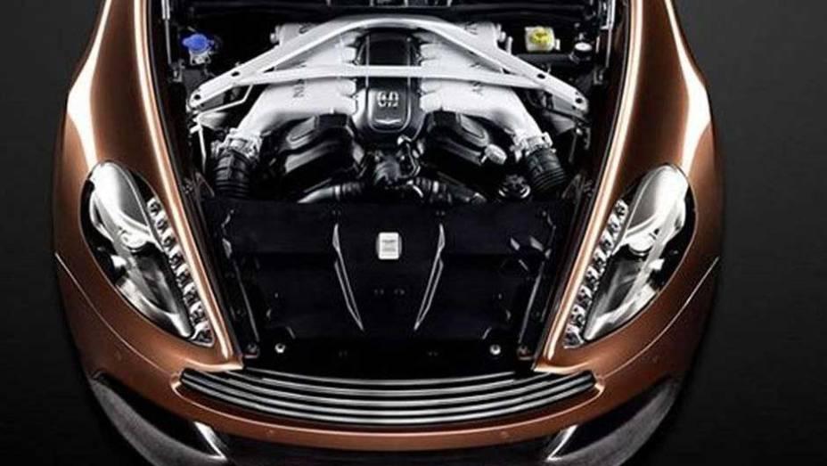 """Novo Aston Martin Vanquish   <a href=""""http://quatrorodas.abril.com.br/saloes/paris/2012/aston-martin-vanquish-702721.shtml"""" rel=""""migration"""">Leia mais</a>"""